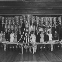 School Group: High School Thanksgiving Bazaar. 1914-1915