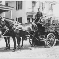 The  Fire Dept. Bellows Falls, VT. 9/30/1913