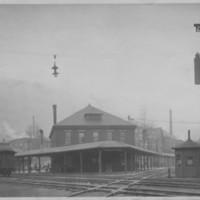 Railway Depot and Diamond. Bellows Falls, VT.