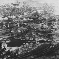 Bellows Falls, VT. From Fall Mountain. 2/4/1927
