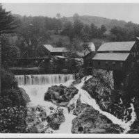 Paper Mill: Lawrence Mills. Brockway Mills, VT.