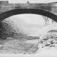 Bridge: Canal Street Bridge Over Dry Canal. 1928.