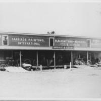 Carriage Shop: Wheeler's. Rockingham, VT.