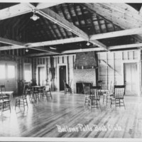 Club House Interior. Bellows Falls Boat Club.