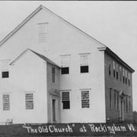 Rockingham Meeting House - 8/15/1907