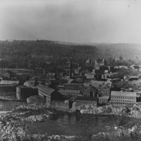 Bellows Falls, VT. From low on Fall Mountain.