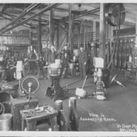 Vermont Farm Machine Company. Artist's Sketch of Plant: Assembling Shop.