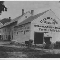 Carriage Shop: W.W. Corey. Saxton's River, VT.