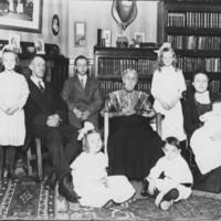 Family: Willis C. Belknap. About 1914