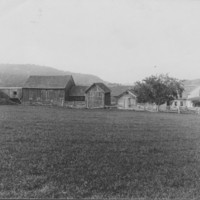Farm Buildings. Rockingham Road, Rockingham, VT.