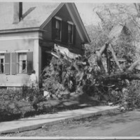 Hurricane: 9/21/1938: Canal Street. George Residence.