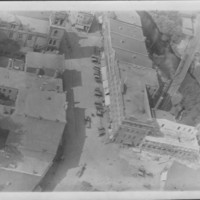 Bellows Falls Square. About 1926. From aircraft.