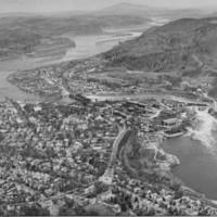 Bellows Falls, VT. From aircraft. 1940.