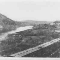 Connecticut River. South from Rockingham St.