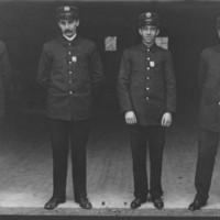 Four Officers. B.F.F.D.