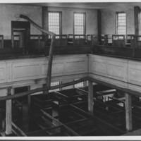 Rockingham Meeting House - Interior.