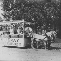 Float: S.J. Cray Packing Company. 1914&lt;br /&gt;<br />