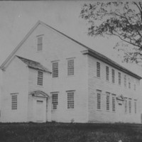 Rockingham Meeting House - North End and Front.