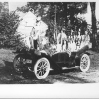 Parade Entry: Shorty Smith, Group of Girls, 1912 Auto&lt;br /&gt;<br />