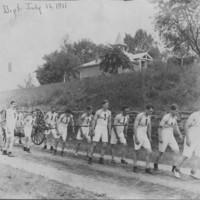 Running Team. B.F.F.D. Hose Co. No. 1. 7/16/1911