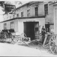 Blacksmith Shop: J. S. Snow. Saxton's River, VT.