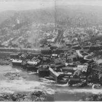 Bellows Falls, VT. From Mount Kilburn. 1926