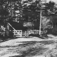 Minard's Pond Road. First Gate. 1890s