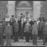 Post Office Employees. Bellows Falls, VT.
