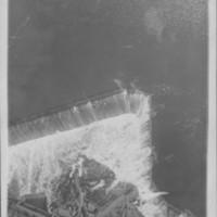 Water Flow Over Dam. 1912.