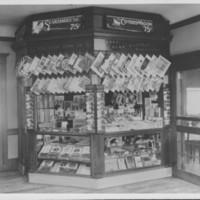 Railway Depot Magazine Stand. Bellows Falls, VT.