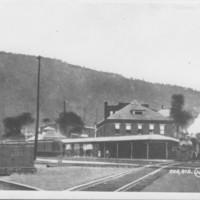 Railway Depot. Bellows Falls, VT.