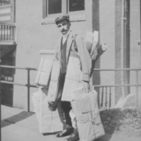 Postal Service: Parcel Post By Hand.