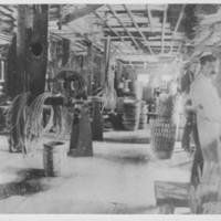 Mill: Braiding Room. Gage Basket Mill.