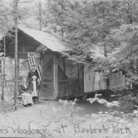 Barber Park: Arthur Woodcock Camp.