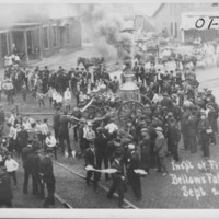 Steam Pumper. B.F.F.D. Inspection. 9/25/1908