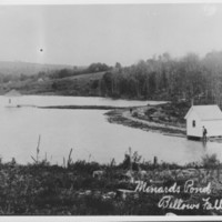 Minard's Pond Reservoir from 1848