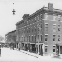 Bellows Falls: The Square.