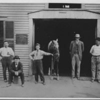 Livery Stable. F.C. Wilkinson, D.V.S.