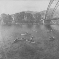 Bellows Falls Boat Club Regatta. 7/4/1910