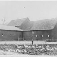Lovell Farm, Etc.: Barns, Rear View.