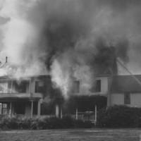Fire: Marie Johnson House. 9/29/1958.