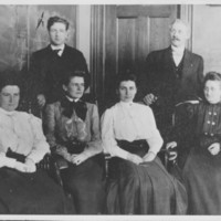 School Group: High School Faculty. Early 1900s