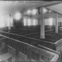 Rockingham Meeting House - Interior