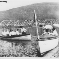 Boats and Members. Bellows Falls Boat Club.
