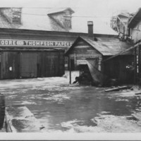 Flood: November, 1927. At Moore & Thompson Paper Co.