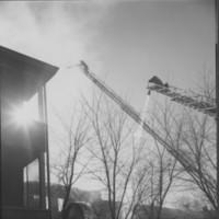 Fire: Rockingham Street. Bellows Falls, VT. 4/17/77.