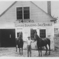 Livery Stable: Bemis. Saxton's River, VT.