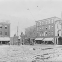 Bellows Falls: The Square. South-East Corner.