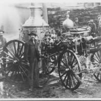 """Steam Pump """"Mount Kilburn"""". B.F.F.D. 1907"""