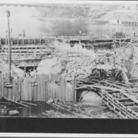 Coffer Dam Construction. 1927-1928.